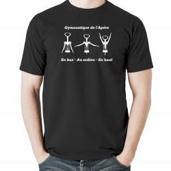 Tshirt Gymnastique de l'apéro